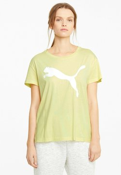 Puma - LOGO - T-Shirt print - yellow pear