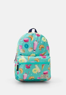 Kidzroom - BACKPACK MILKY KISS STAY CUTE SWEET DONUT UNISEX - Ryggsäck - mint