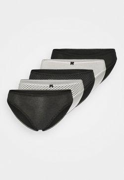 Marks & Spencer London - MONO 5 PACK - Slip - black mix