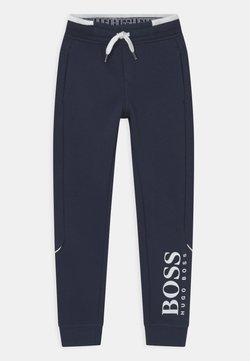 BOSS Kidswear - Träningsbyxor - navy