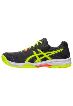 ASICS - Sneaker low - carrier grey/safety yellow