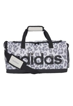 adidas Performance - LINEAR LEOPARD DUFFEL BAG SMALL - Sporttasche - grey