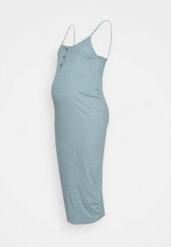 Missguided Maternity - BUTTON FRONT CAMI DRESS - Robe d'été - smoke blue