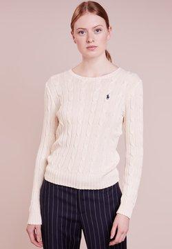 Polo Ralph Lauren - CLASSIC - Stickad tröja - cream