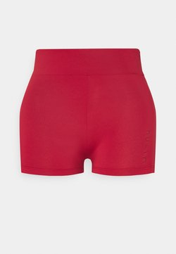 NU-IN - MID RISE SHORT SHORTS - Legging - red