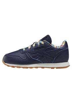 Reebok Classic - CLASSIC LEATHER SHOES - Trainers - blue