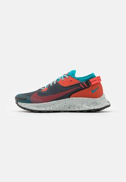 Nike Performance - PEGASUS TRAIL 2 GTX - Zapatillas de trail running - dark smoke grey/bright crimson