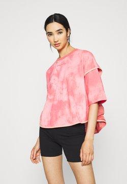 Converse - SUMMER FEST VENTED TEE - T-shirt print - terracotta pink