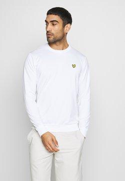 Lyle & Scott - GOLF TECH CREW MIDLAYER - Sweater - white