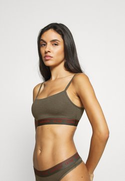 Calvin Klein Underwear - ONE PRIDE CAPSULE UNLINED BRALETTE - Bustier - muted pine