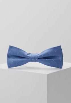Calvin Klein - TEXTURED GROUND DOT BOW TIE - Fliege - light blue