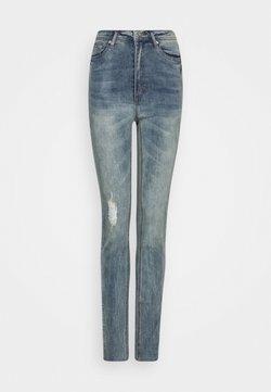 Missguided Tall - SINNER SINGLE KNEE JEAN - Jeans Skinny Fit - vintage wash