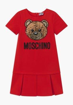 MOSCHINO - Jerseykleid - poppy red