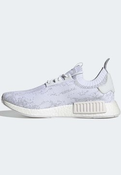 adidas Originals - NMD_R1 Primeknit NMD BOOST ORIGINALS SNEAKERS SHOES - Trainers - white