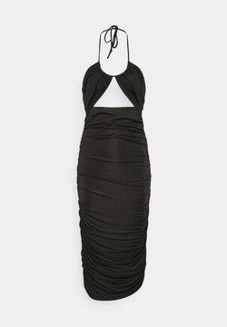 Third Form - LEAD ON HALTER MIDI - Cocktailkleid/festliches Kleid - black