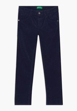 Benetton - BASIC BOY - Kangashousut - dark blue