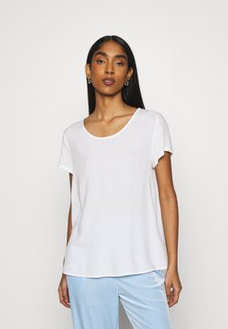 ONLY - ONLFIRST ONE LIFE SOLID TOP - T-shirt basic - cloud dancer