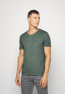 Marc O'Polo - SHORT SLEEVE RAW - T-Shirt basic - mangrove