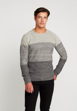 INDICODE JEANS - DALE - Strickpullover - white asparagus