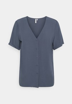Pieces - PCCECILIE JERSEY SHORT SLEEVES - Blouse - ombre blue