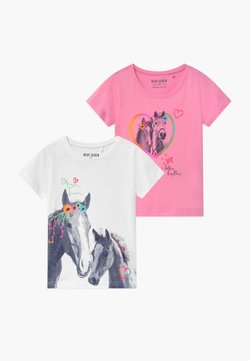 Blue Seven - SMALL GIRLS HORSE 2 PACK - T-shirt med print - multi
