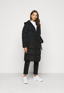 ONLY Petite - ONLMONICA PLAIN LONG PUFFER COAT - Talvitakki - black
