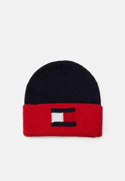 Tommy Hilfiger - BIG FLAG BEANIE - Beanie - corporate