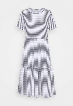 Object Petite - OBJSTEPHANIE DRESS  - Jerseykleid - white