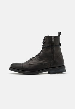 Walk London - STIGMA BOOT - Schnürstiefelette - black