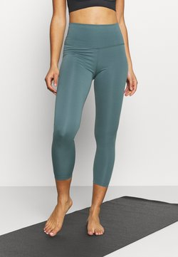 Nike Performance - THE YOGA 7/8 - Tights - hasta/dark teal green