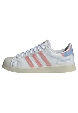 adidas Originals - SUPERSTAR FUTURESHELL - Baskets basses - ftwr white/semi solar red/bright blue