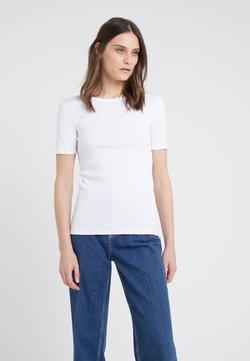 J.CREW - CREWNECK ELBOW SLEEVE - T-shirt basic - white
