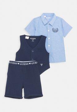 Guess - VEST PANTS SET - Chaleco - bleu/deck blue