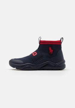 Polo Ralph Lauren - CHANING - Sneakers hoog - navy/red