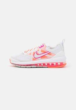 Nike Sportswear - AIR MAX GENOME - Sneakers laag - white/platinum tint/bright mango/hyper pink/grey fog