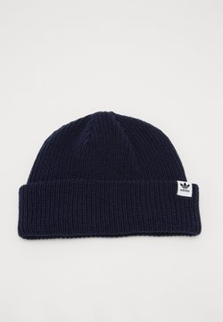 adidas Originals - SHORTY BEANIE - Pipo - conavy/white