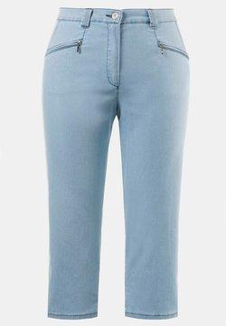 Ulla Popken - Jeans Shorts - hell bleached