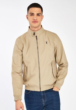Next - STAG HARRINGTON - Giubbotto Bomber - beige