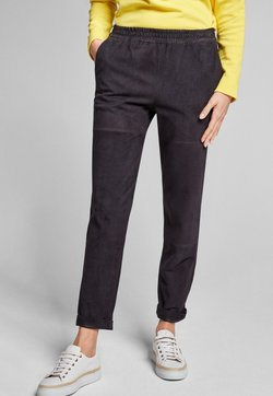 JOOP! - LANE - Pantalon en cuir - navy
