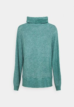 American Eagle - OVERSIZED TURTLENECK - Strickpullover - pine