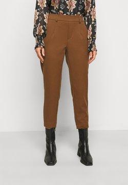 Object Petite - OBJLISA SLIM PANT - Spodnie materiałowe - partridge
