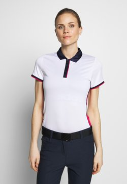Callaway - SWING TECH COLOUR BLOCK - Funktionsshirt - brilliant white