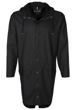 Rains - LONG JACKET UNISEX - Regenjacke / wasserabweisende Jacke - black