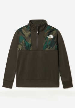 The North Face - B SURGENT 1/4 ZIP - Sweatshirt - new taupe green