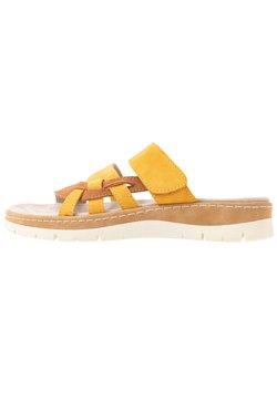 Jana - SLIDES - Pantolette flach - saffron