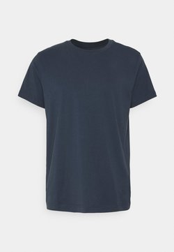 Weekday - RELAXED  - T-shirts - dark navy