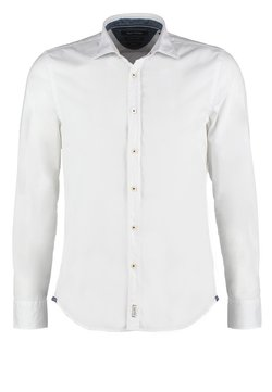 Marc O'Polo - LONG SLEEVE SHARK COLLAR - Hemd - white