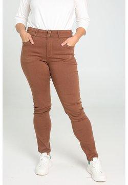 Paprika - SLIM - Slim fit jeans - caramel