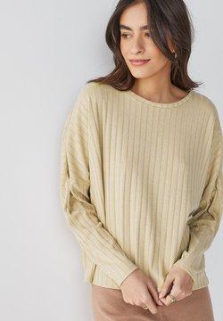 Next - Langarmshirt - off white