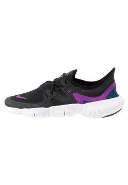 Nike Performance - FREE RN 5.0 - Laufschuh Natural running - black/vivid purple/valerian blue